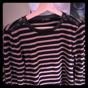J.McLaughlin top - classic with a touch of trendy
